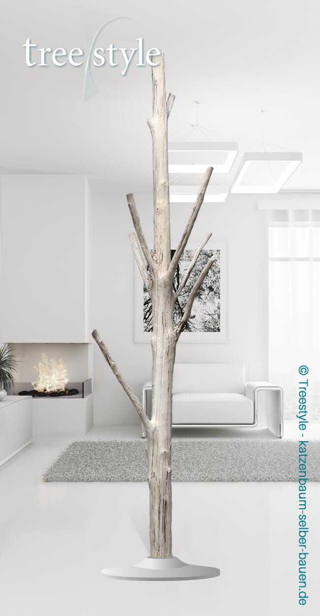 Baum B104 Birke Katzenbaum Selber Bauen Treestyle